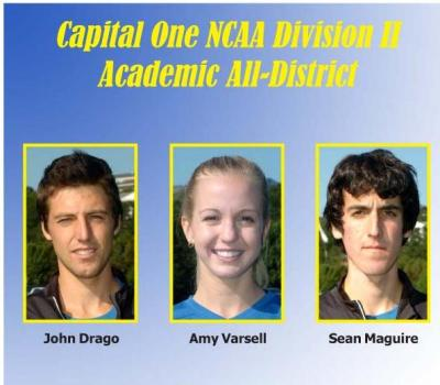 Three Juniors Earn Capital One Academic All-District Honors