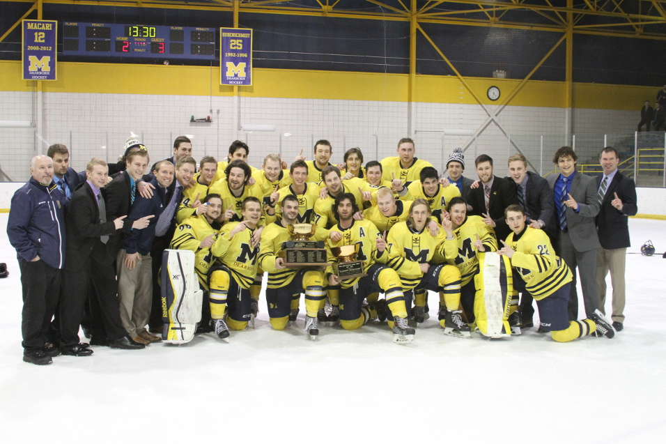 Hockey Wins GLCHL Championship