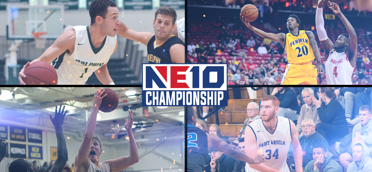 High Seeds Hold Serve During NE10 Men's Basketball Quarterfinal Action