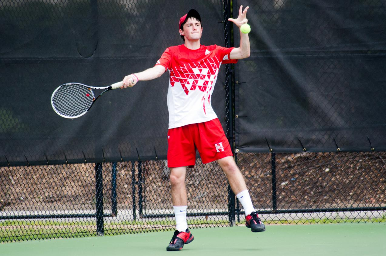 Huntingdon men's tennis rallies to beat Covenant