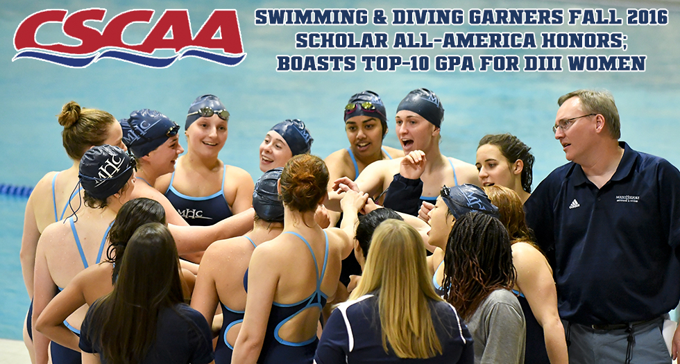 Swimming & Diving Garners CSCAA Scholar All-America Honors