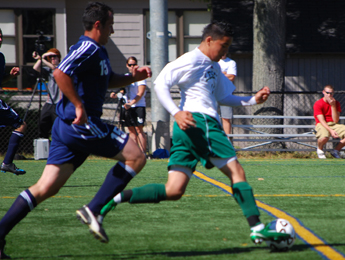 Lesley and Mass Maritime battle to 1-1 tie