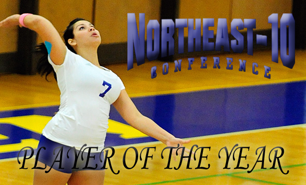 New Haven's Candelaria Named Northeast-10 Player of the Year