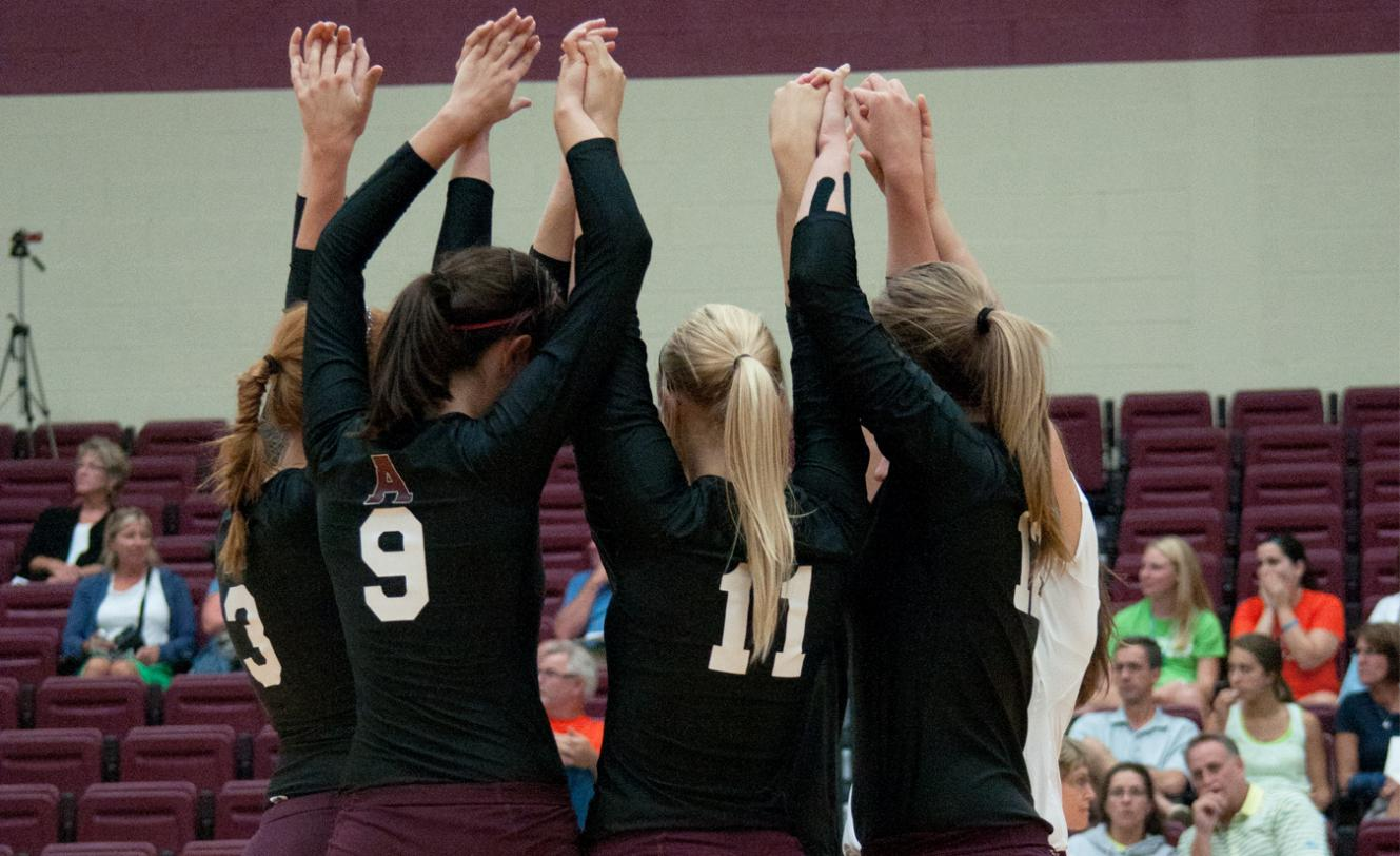 Volleyball drops first match of the season, 3-1 (12-25, 25-20, 18-25, 8-25), at #3 Calvin College on Wednesday