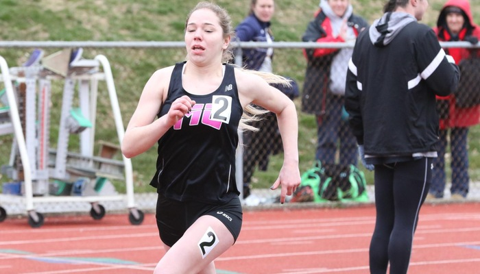 Women's Track and Field registers several first-place finishes at the Muskie Duals
