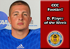 Mike Chirco-Western New England, CCC Football: Defensive Player of the Week