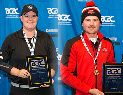 Martin and Harrison take centre stage at ACAC Golf Championships