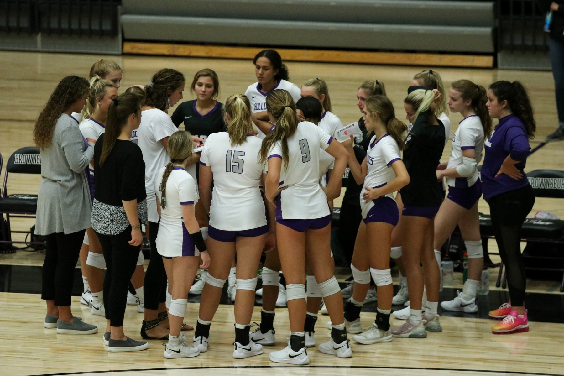 Maples secures first win; volleyball sweeps Ben Davis to open season