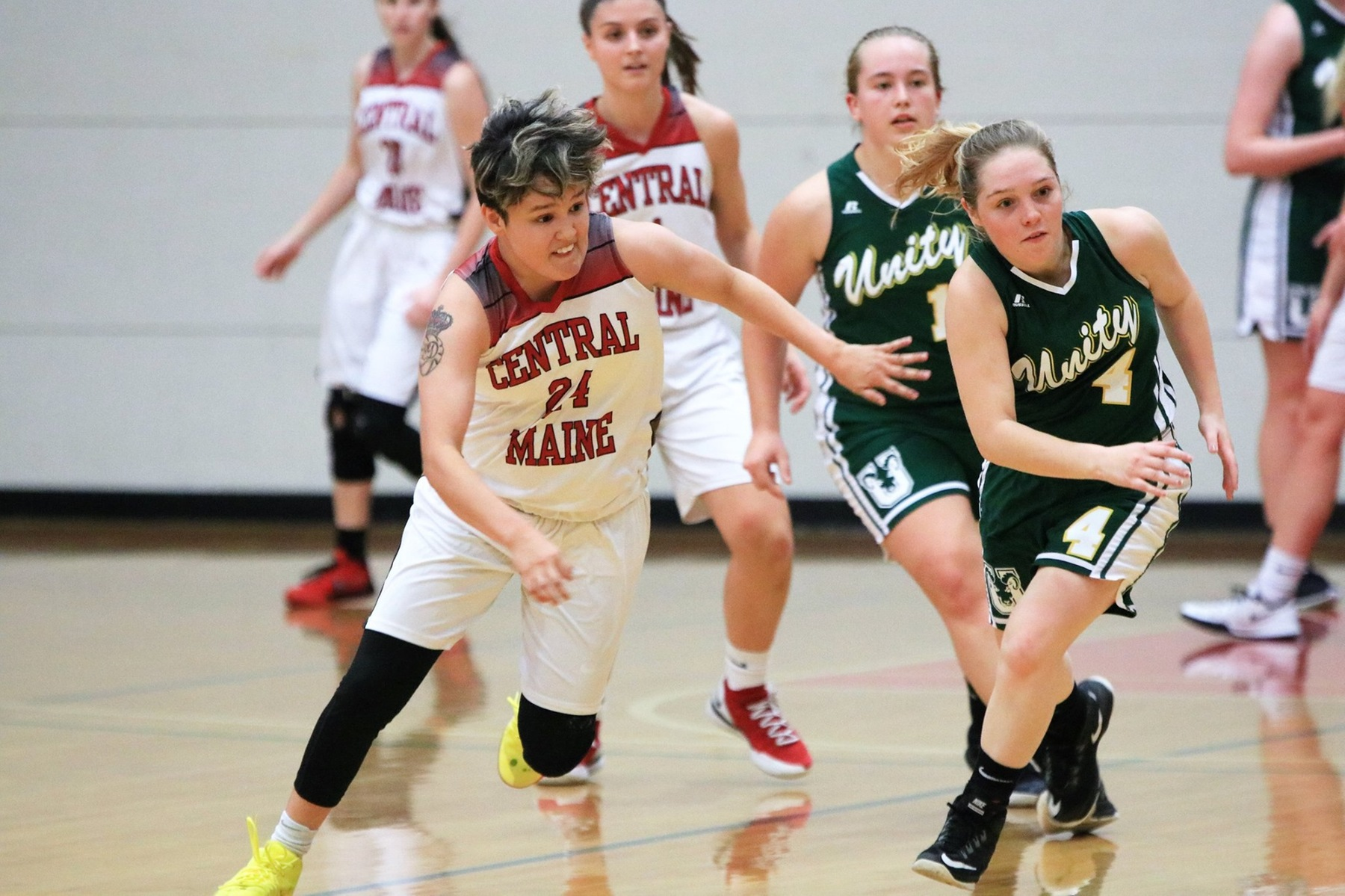 Women's Basketball back no track after rout of Unity