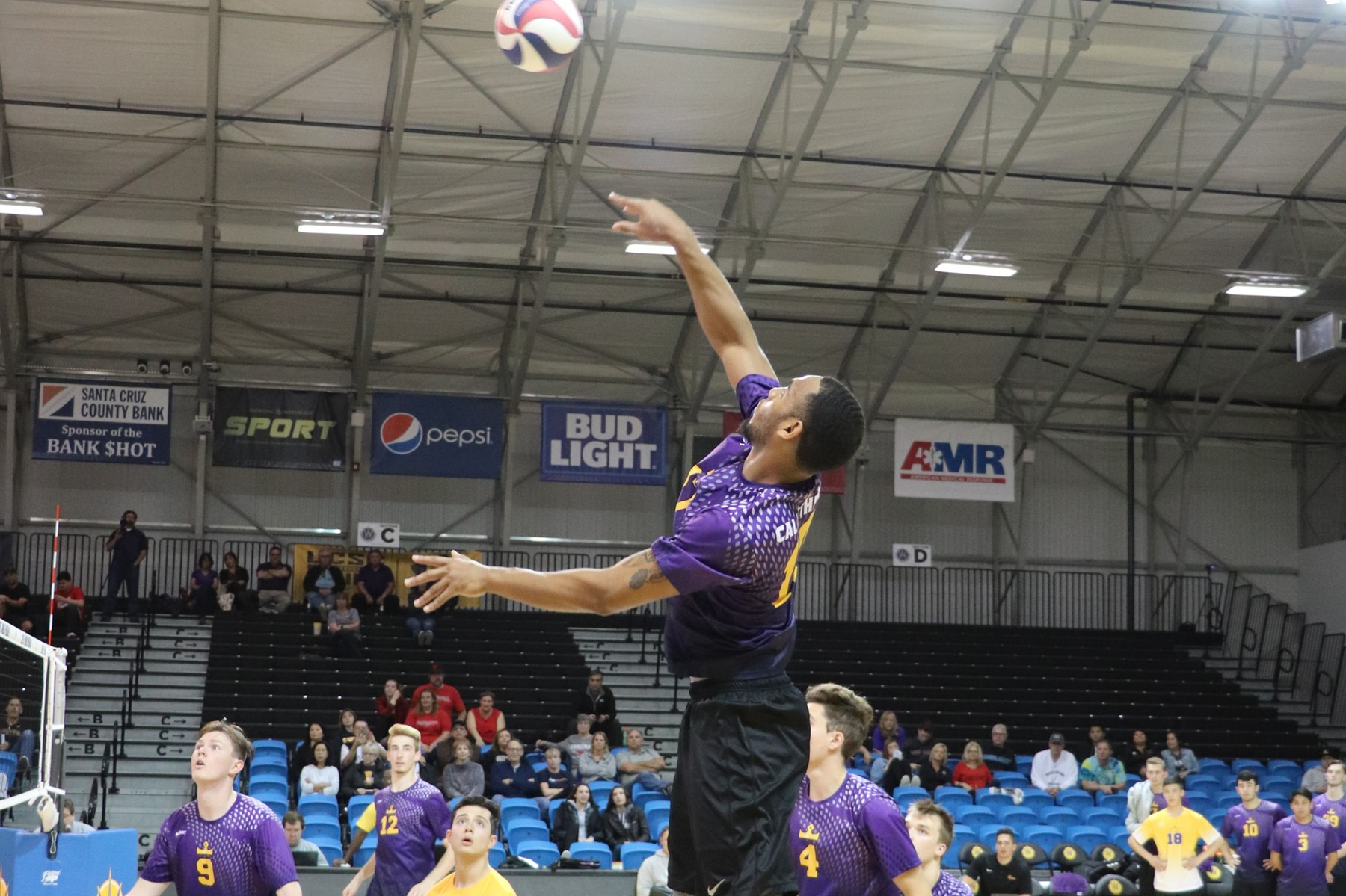 Kingsmen Earn Comeback Win in Five Sets