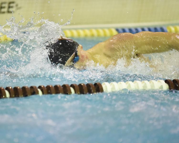 White Takes 200-IM But Buffalo Defeats @BonniesMSwim