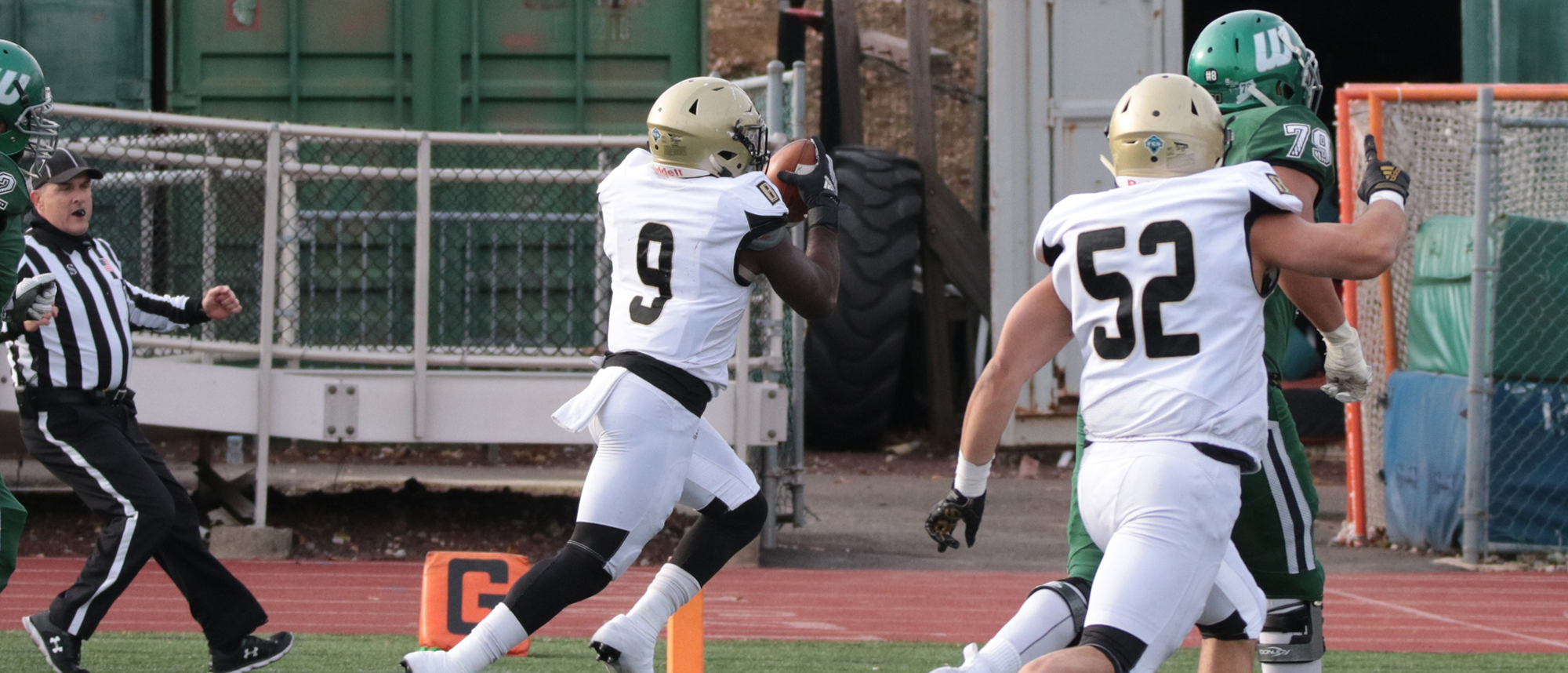 Ukele pick-6 helps Bryant close 2019 with win