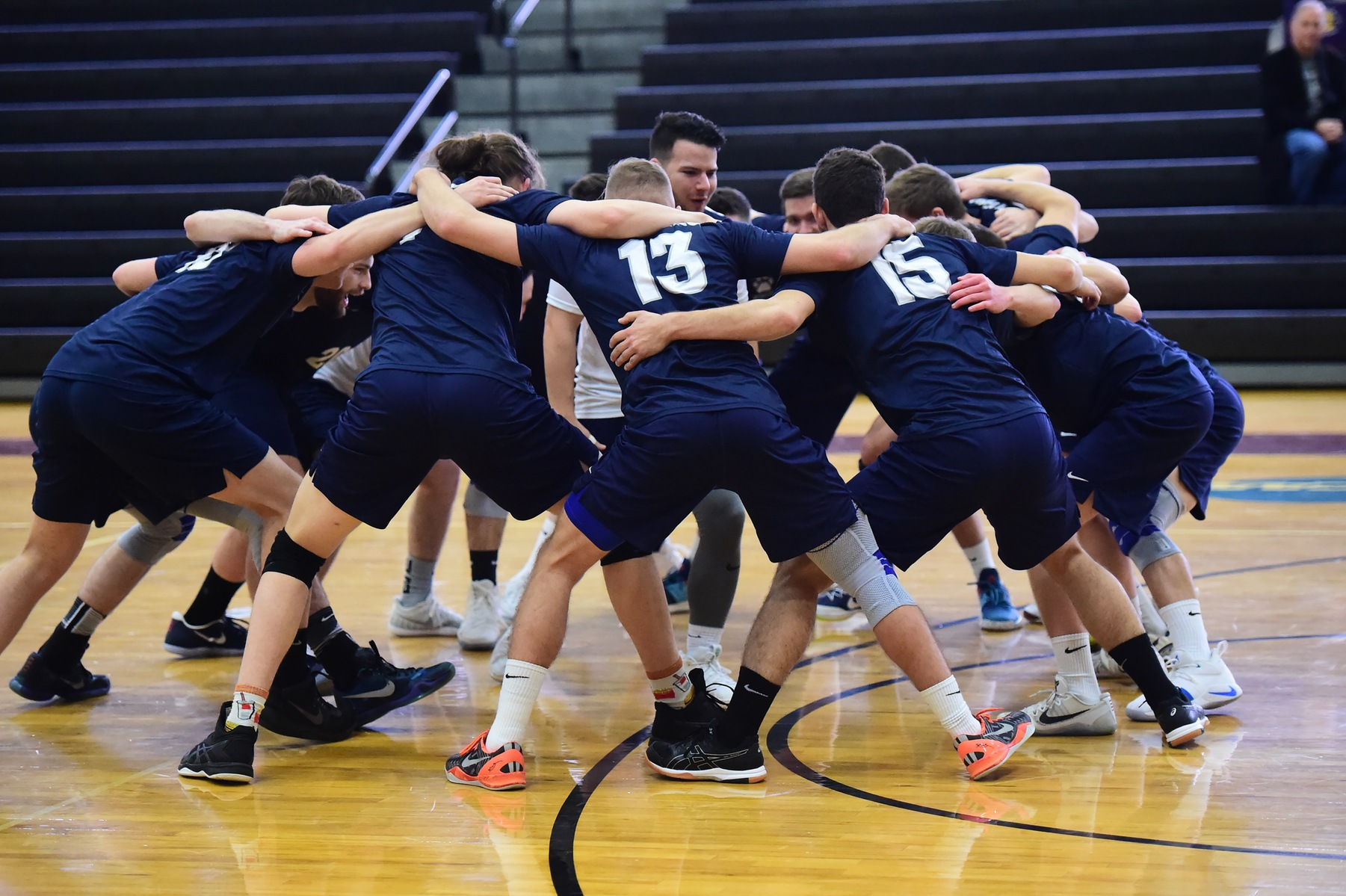 Men's Volleyball Travels to Medaille on Tuesday