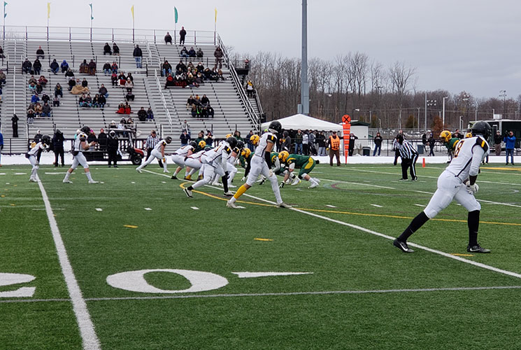 Football Closes Season with Loss to Third Ranked Brockport in Opening Round of NCAA Tournament