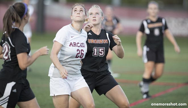 Women's Soccer Plays No. 24 Oneonta State to 1-1 Draw