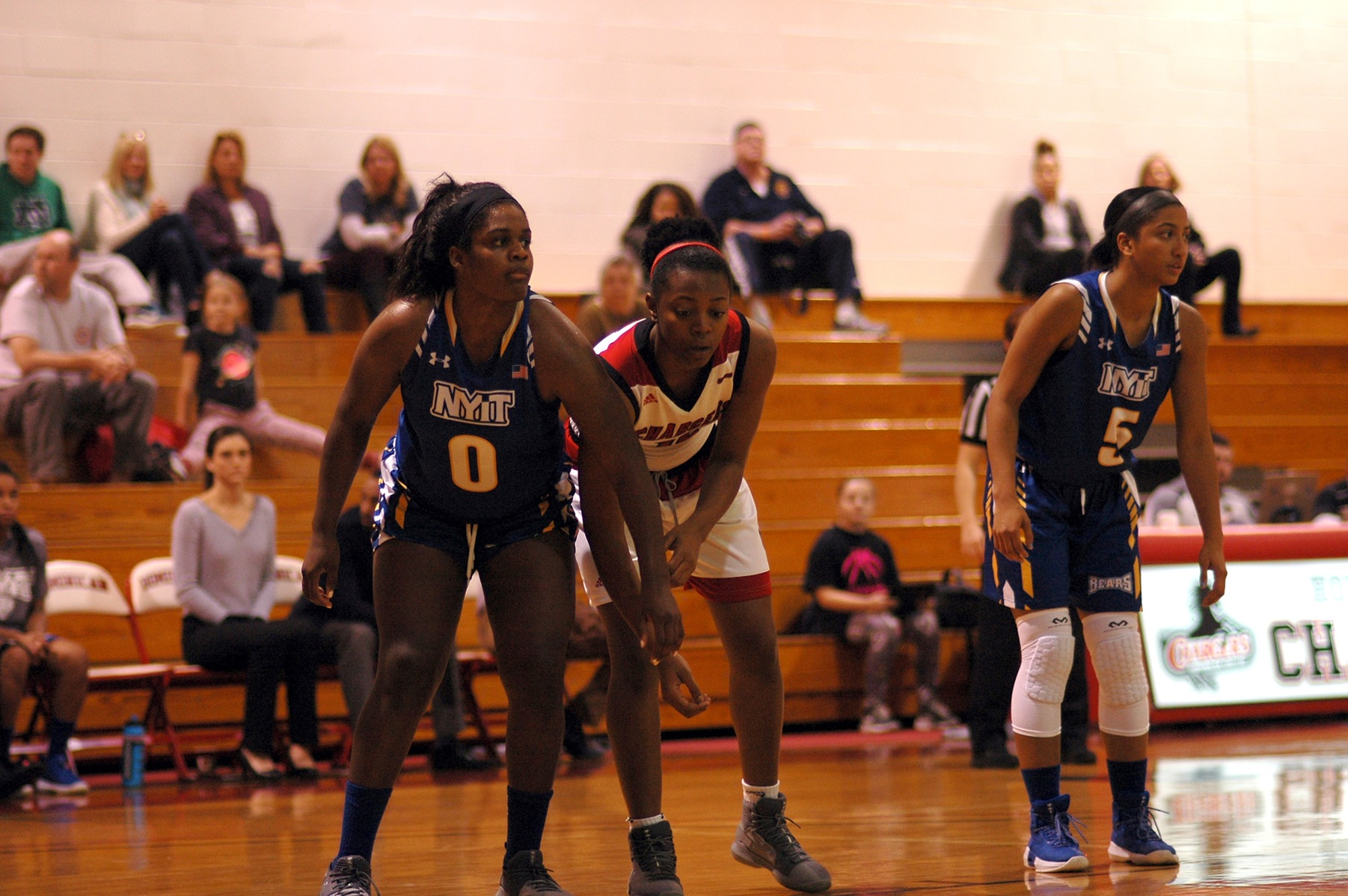 COUGARS GET REVENGE AGAINST LADY CHARGERS