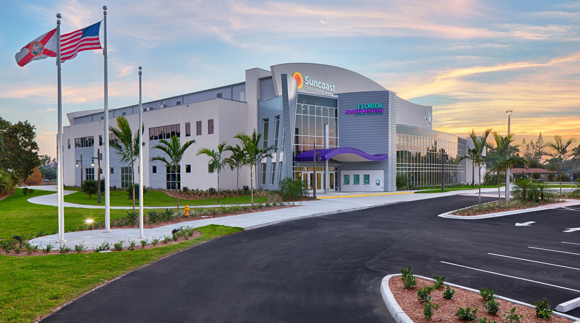 Suncoast Credit Union Arena Voted NJCAA's Best