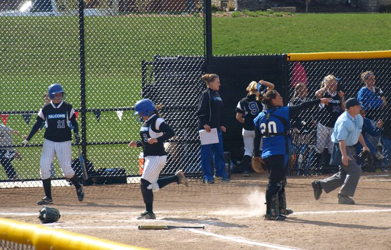 Falcon softball ties for second; earns #3 seed