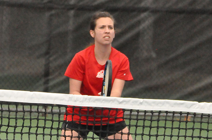 Women's Tennis: Panthers fall to nationally-ranked Sewanee