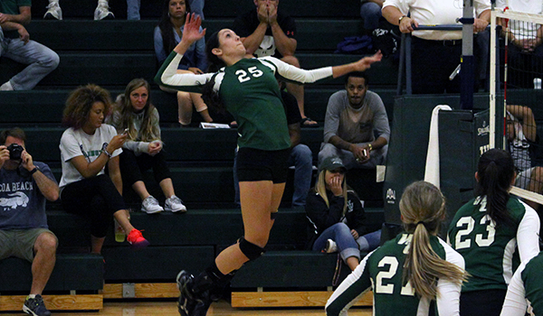 Goldey-Beacom's Defensive Gem Halts Wilmington Volleyball's Five-Match Winning Streak