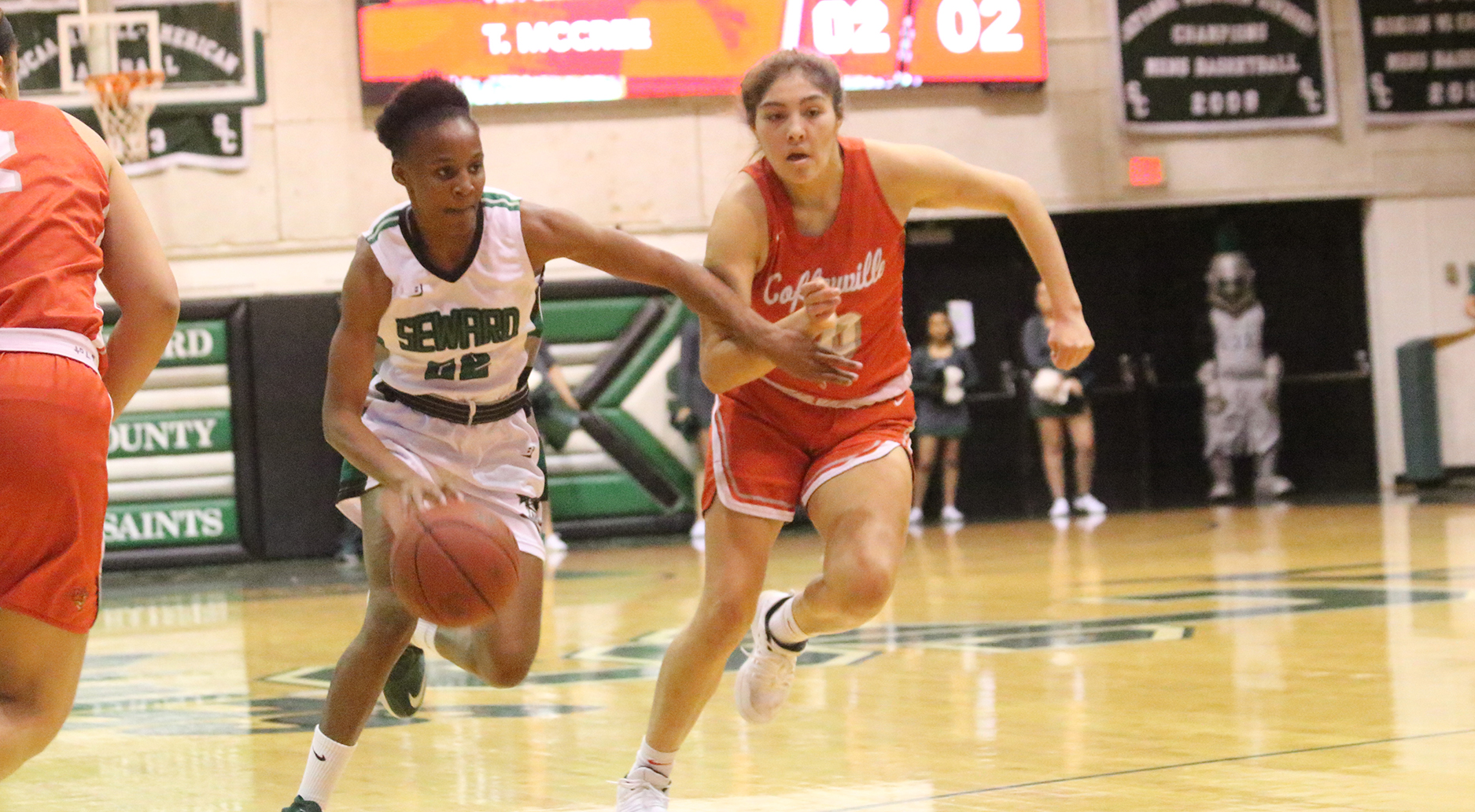 Lady Saints Win Overtime Thriller