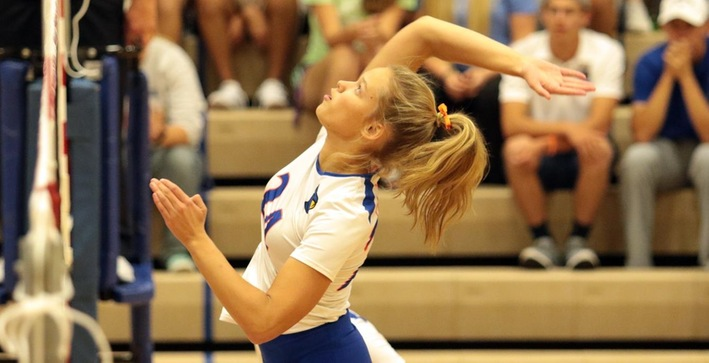 First set energy propels Falcons to another sweep