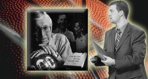 Willemsen writes introductory tribute for John Wooden