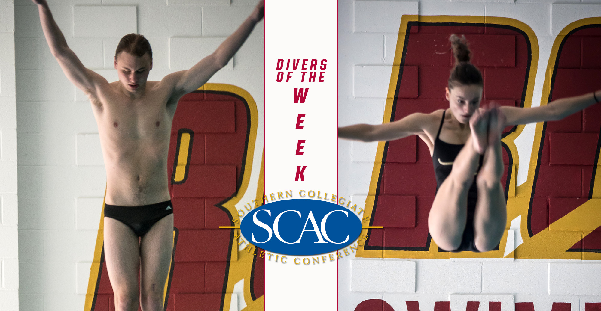Baker, Tuttle Named SCAC Divers of the Week