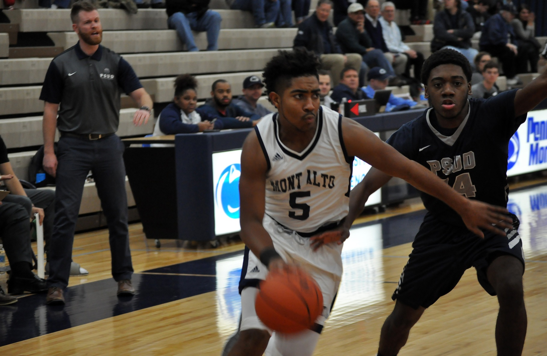 Men's Basketball Game Halts Three-Game Skid With Win Over PSU DuBois