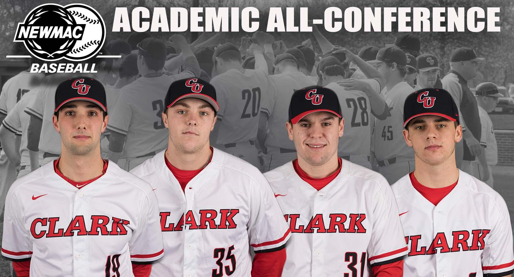 Dobratz, Sawden, Kelley, Horn Named to NEWMAC Baseball Academic All-Conference Team