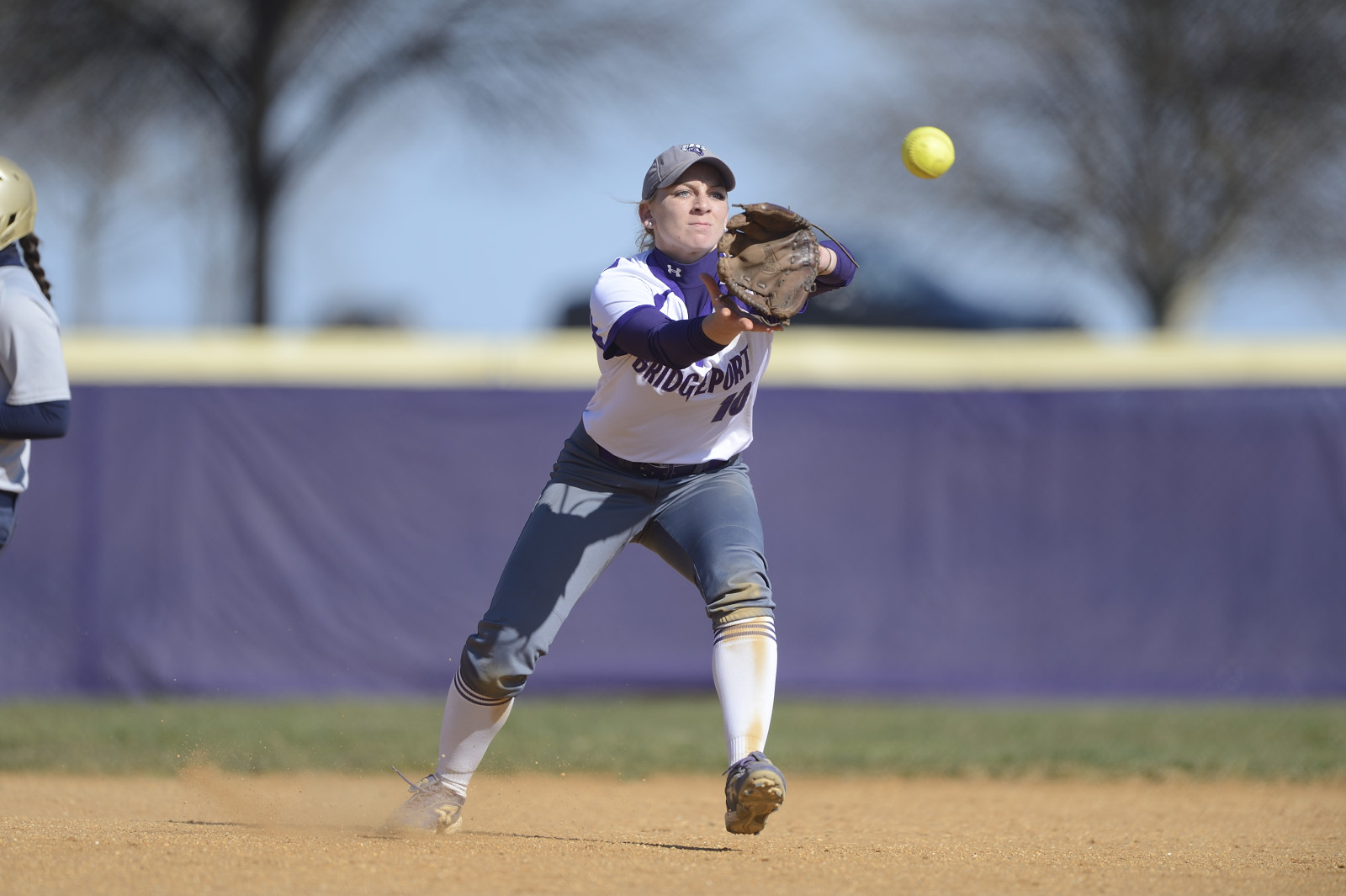 Purple Knights Split A Tuesday Doubleheader With ECC Softball-Leading Mercy College
