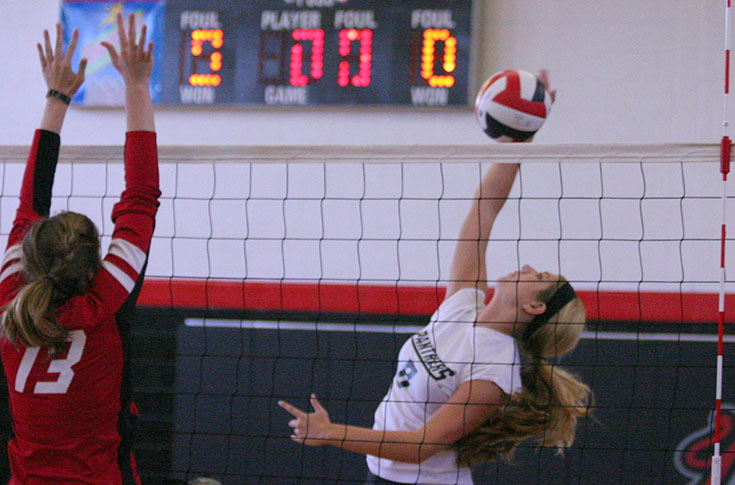 Volleyball: Panthers open season with four matches at MckAttack Classic