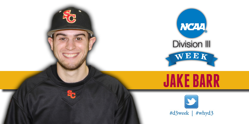 Division III Week Profile - Jake Barr