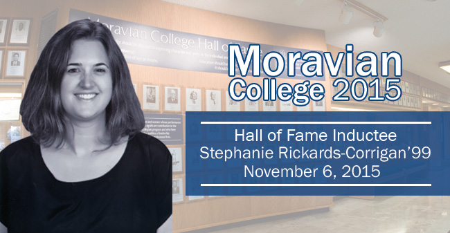 Stephanie Rickards Corrigan '99 – New Inductee to Hall of Fame