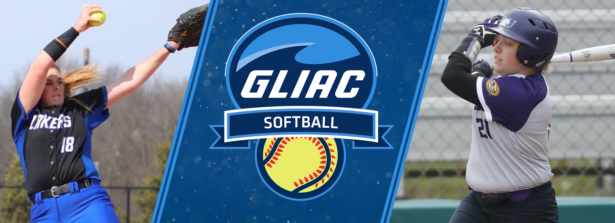 Ashland's Denner and GVSU's Lipvosky garner softball weekly accolades
