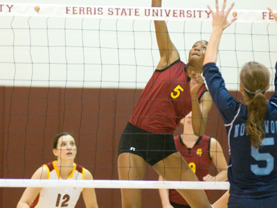 Senior Arielle Goodson and the Bulldogs will play 26 regular-season matches this 2010 campaign.  (Photo by Ed Hyde)