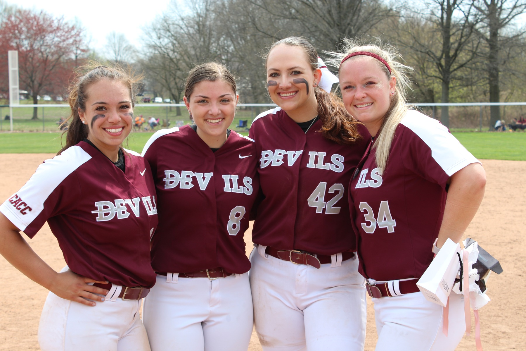 Softball Hangs with Kutztown in Game One; Devils Swept by Golden Bears in Doubleheader on Senior Day
