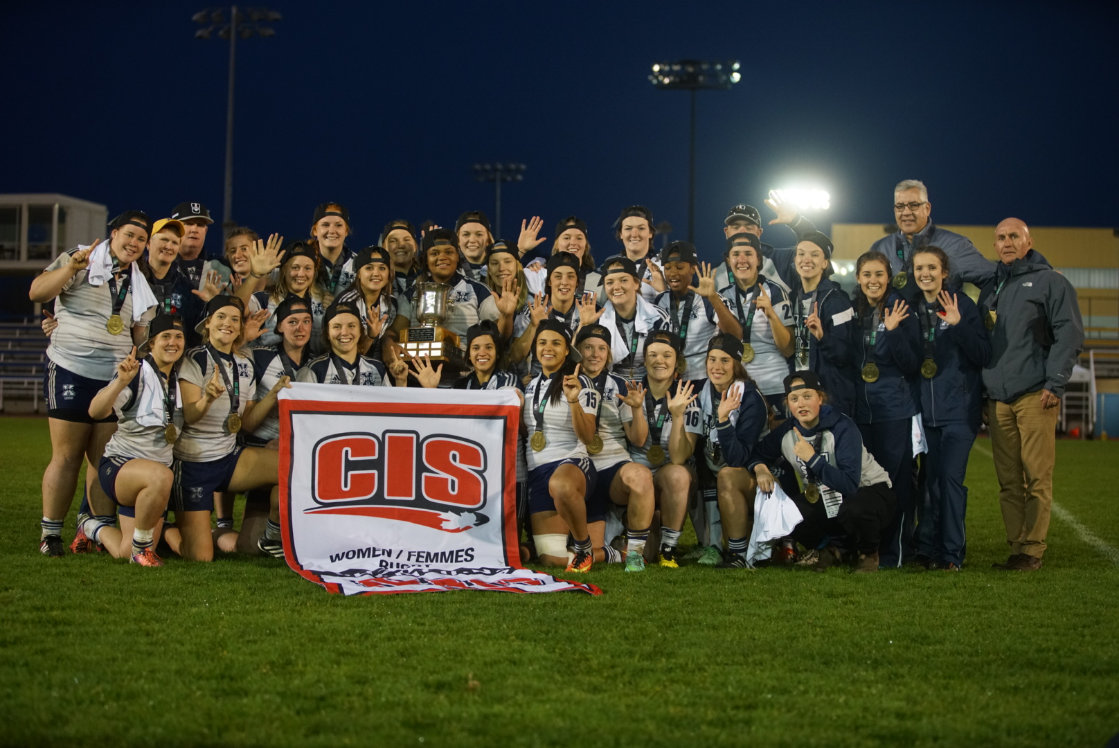 2016 Women's Rugby Championship: StFX captures fifth national title, McDaid named championship MVP