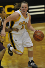 Carlee Cassidy ranks second all-time at UMBC with 1,627 career points.