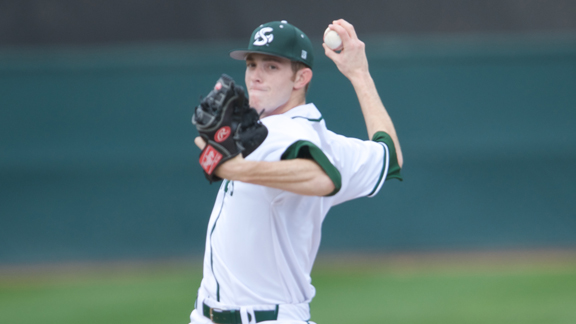 PITCHING AND DEFENSE LEAD BASEBALL TO 1-0 WIN OVER #21 TEXAS A&M