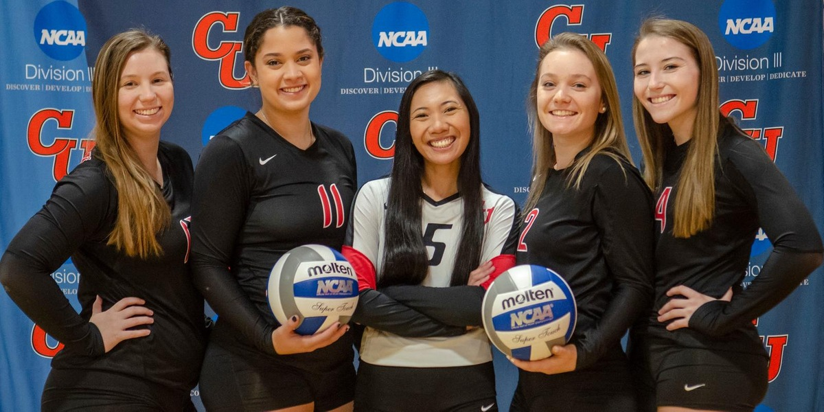 Volleyball Sweeps Smith on Senior Day