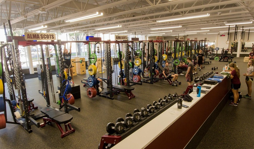 Sherman Strength and Conditioning Weight Room Tour