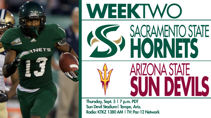 FOOTBALL HEADS TO ARIZONA STATE FOR ANOTHER PAC-12 SHOWDOWN
