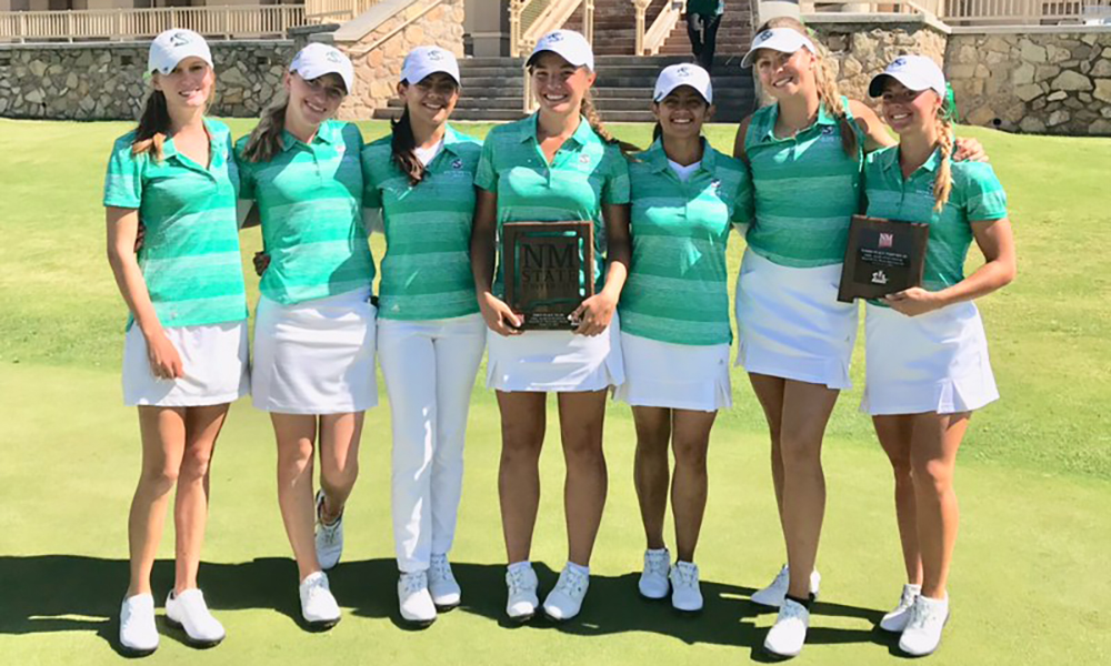 WOMEN'S GOLF WINS TEAM TITLE AT NM STATE AGGIE INVITATIONAL