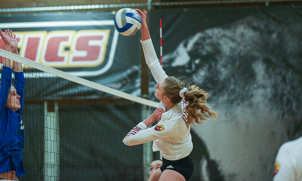 Pride Volleyball Loses Conference Contest