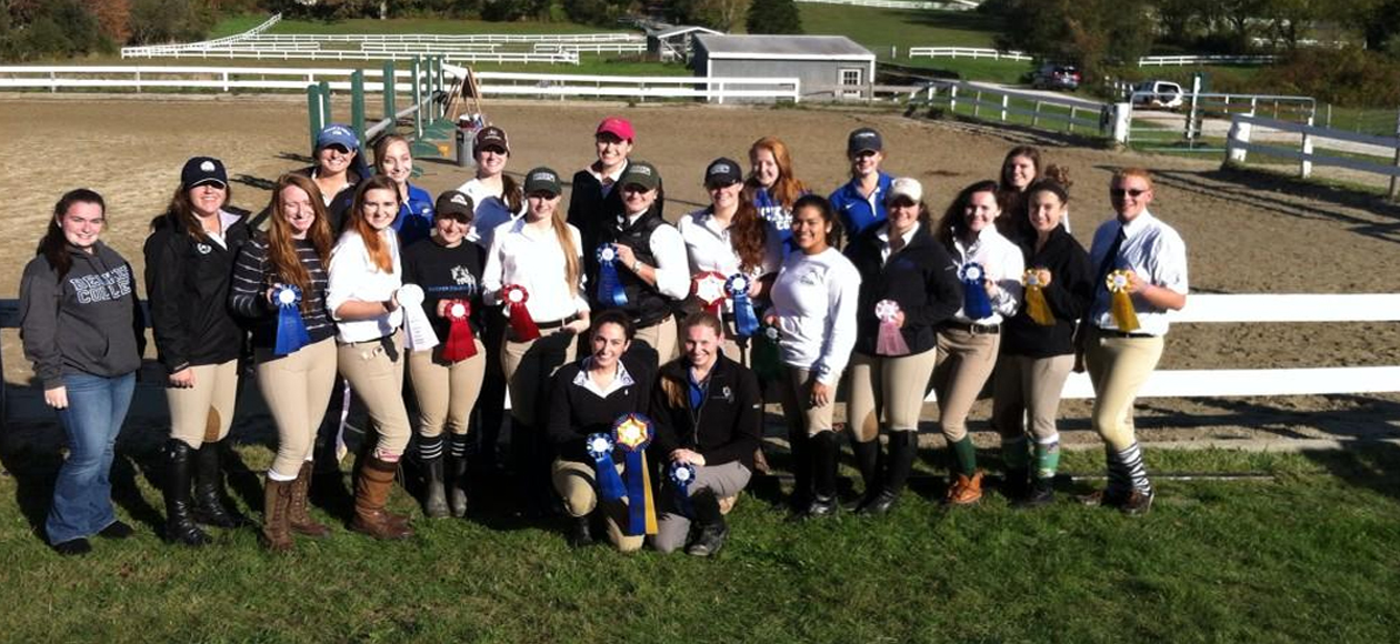 Equestrian Places First At The UMass-Dartmouth Show