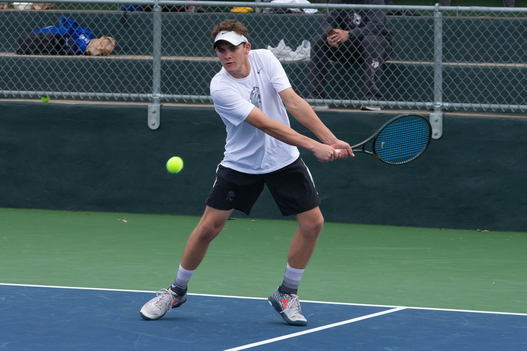#17 Men's Tennis Loses to D-I Abilene Christian and Tyler JC