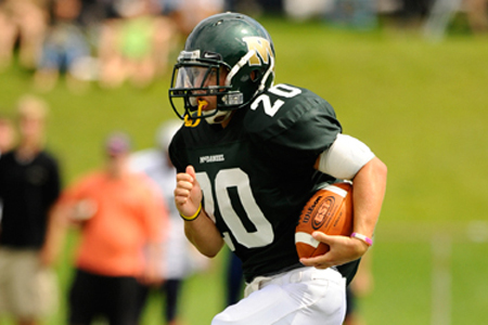 Deep ball does in McDaniel; Catholic rolls to 31-7 victory