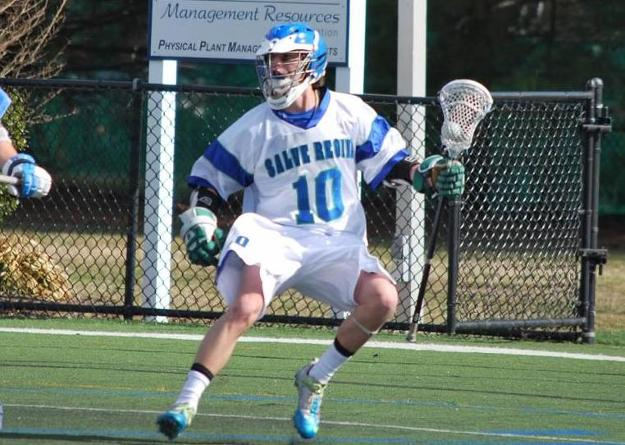 Freshman Nick LoCicero led all players with eight points (3g, 5a) in Salve Regina's 16-5 win over Curry.