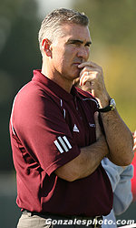 Santa Clara Women's Soccer Coach Jerry Smith Signs Seven-Year Deal